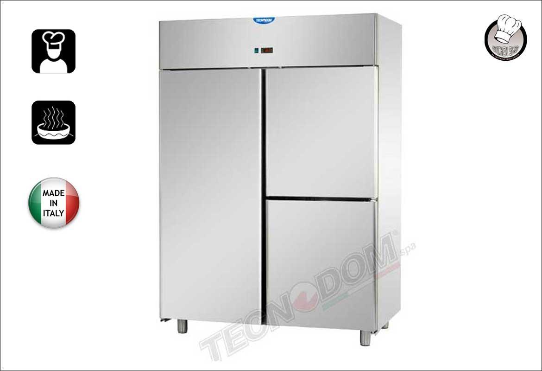 Armadio refrigerato TN da 1200 litri con 1 porta e 2 sportelli